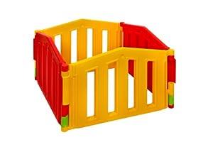 Parque infantil / bebé Parque 4 piezas de extensión de XXL by LCP Kids ® / barrera de seguridad / Sistema de calidad - EN 71 certificado - BebeHogar.com