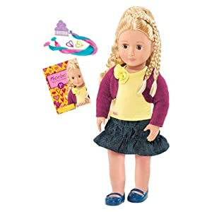 """Amazon.com: Our Generation 18"""" Doll: Phoebe From Hair to There: Toys"""
