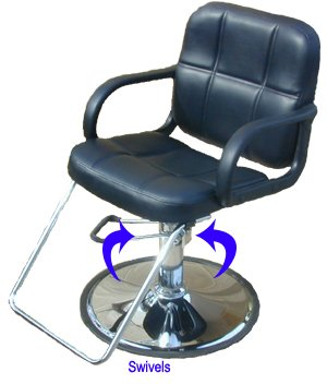 Beauty Salon Barber Hydraulic Styling Chair Equipment