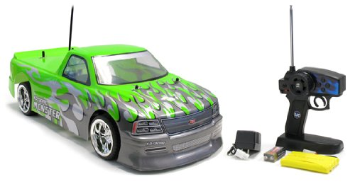 41GLh1qanqL Cheap Price 1:10 Chevy Silverado Drift GT Electric RTR RC Remote Control Car (Color May Vary)