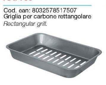 Ricambio per fornacetta rettangolare 750 filcasal