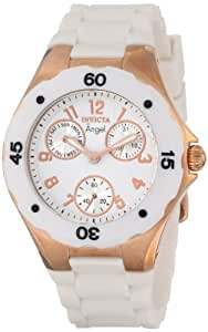 """Invicta Women's 0716 """"Angel Collection"""" Rose Gold-Plated Watch"""