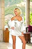 Charmeuse Babydoll/robe Wt 3x
