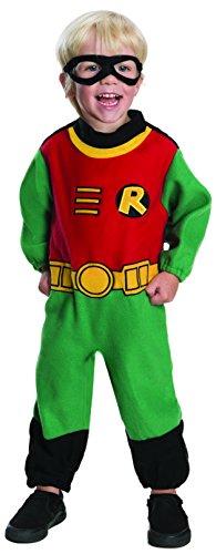 Image - Rubie's Costume Co Baby Boy's Teen Titans Robin Romper Costume