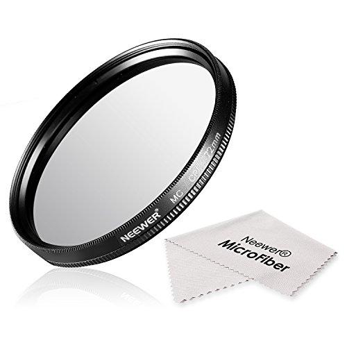 Neewer® 72mm CPL Filtre Polarisant Circulaire Multi-enduit avec Chiffon de Nettoyage en Microfibre pour Objectif de la Caméra avec un Fil de filtre
