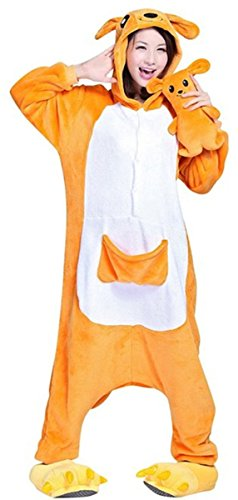 WOWcosplay Pigiama Costume di Halloween, personaggi di cartoni animati Canguro  small