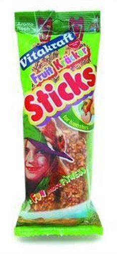 Vitakraft Hamster Treat Sticks (Flavour: Fruit)