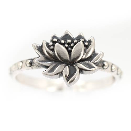 Lotus flower screensaver lotus flower screensaver detailed lotus blossom flower ring in sterling silver size 9 7428 mightylinksfo