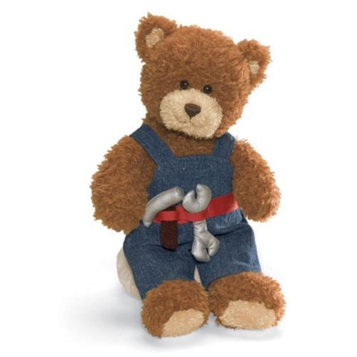 Gund Career and Lifestyle Bear - Handyman - 1