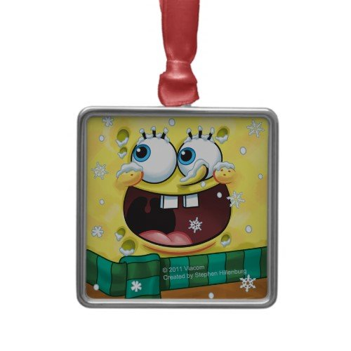SpongeBob SquarePants: Winter Face Ornaments