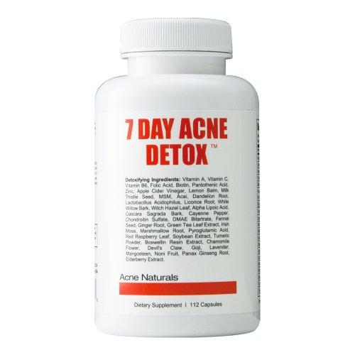 7 jours acné Detox - Débarrassez-vous de