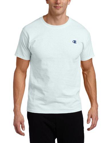 Champion Men's Cotton Jersey Mens T Shirt, XXL-White