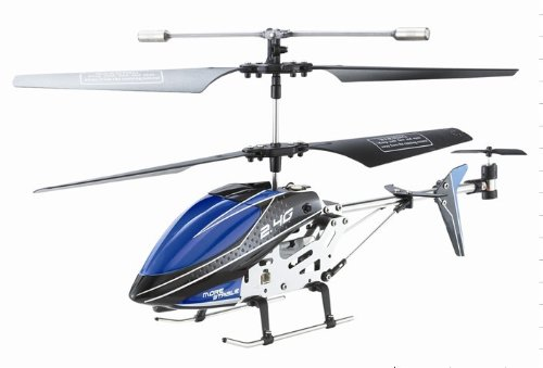UDI 24Ghz Metal Frame w Gyro U820 Helicopter Color May Vary