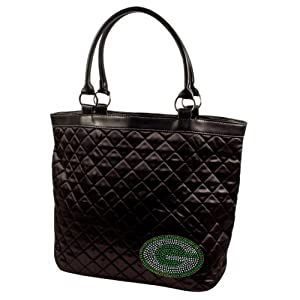 NFL Sport Noir Quilted Tote Purse by Littlearth
