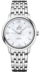NEW OMEGA DEVILLE PRESTIGE CO-AXIAL LADIES WATCH 424.10.33.20.05.001