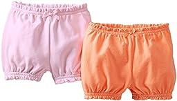 Carter\'s 2 Pack Shorts - Orange-NB
