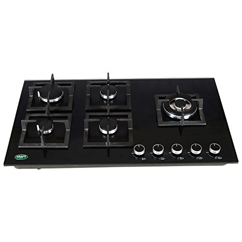 WK 118 Glass Hob (5 Burner)
