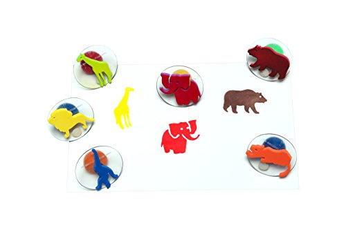 Center Enterprise CE6769 READY2LEARN Giant Wild Animal Stamps (Pack of 6)
