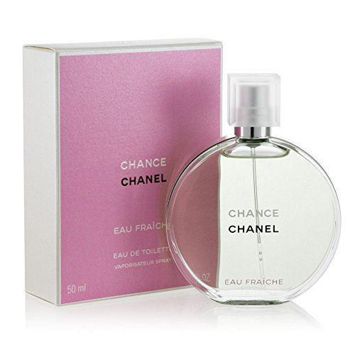 Unknown discount duty free Chance C H A N E L Fraiche for woman Eau de Toilette Spray 50 ml, 1.7 OZ. [NEW IN BOX!!]