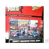 Austin Powers Johnny Lightning Diorama Crikey! Smashing Stuff, Baby!