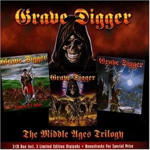 Grave Digger - The Middleage Trilogy - Zortam Music