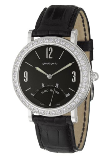 Gerald Genta Arena Retro Second Women's Automatic Watch RSE-M-10-204-CNBAS01