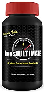 boostULTIMATE - #1 Rated Testosterone Booster - - Increase Stamina, Size, Energy & More  1 Month Supply