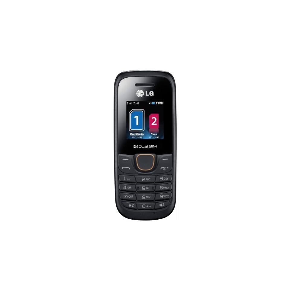 LG A275 Black Unlocked GSM Dual SIM QuadBand Cell Phone   International Version   No Warranty