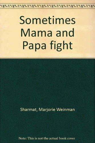 Sometimes Mama and Papa fight PDF