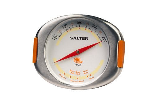 Salter 502Orsscr Gourmet Meat Thermometer With Silicone Grips