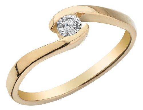 Diamond Promise 1/6 Carat (ctw) Ring in 10K Yellow Gold