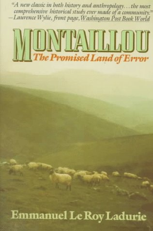 Montaillou : The Promised Land of Error, EMMANUEL LE ROY LADURIE
