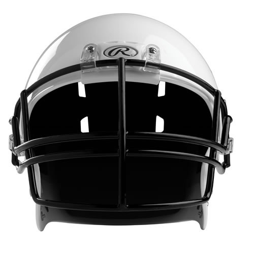 Rawlings Momentum Plus football helmet facemask Youth Black SN2JR (Rawlings Footballs compare prices)