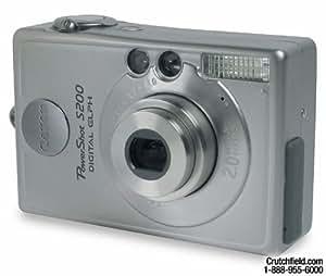 Canon PowerShot S200 2MP Digital ELPH Camera w/  2x Optical Zoom