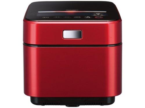 三菱 IHジャー炊飯器NJ-XS10J-R「蒸気レスIH」 (ルビーレッド 5.5合炊き)