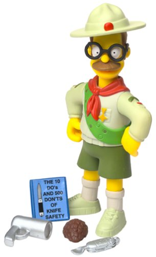 Simpsons Series 10 Scout Leader Flanders Action Figure