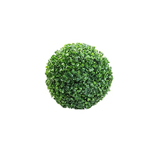 Wrisky Fashion Artificial Plant Ball Tree Boxwood Wedding Event Home Outdoor Decoration (12CM)