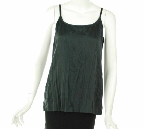 Eileen Fisher Long Cami Graphite Small