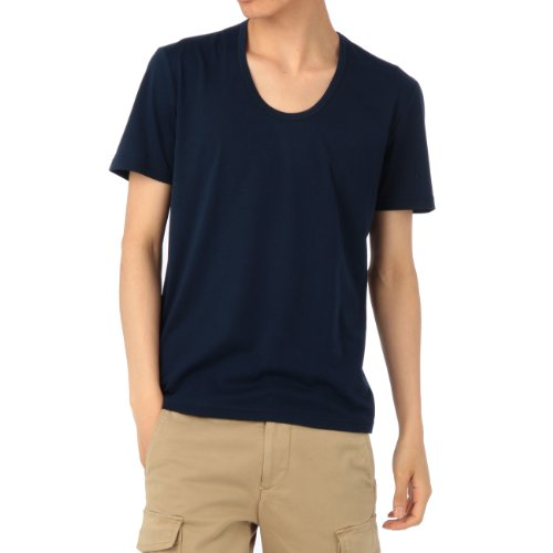 (ボイコット)BOYCOTT 綿混カラーTシャツ ネイビー系(093) 04(LL)