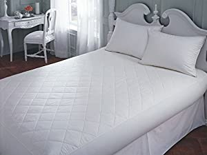 Amazon Com Downright 100 Cotton Top Mattress Pad Queen