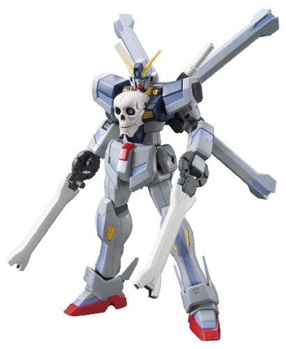 Read About Bandai Hobby #14 HGBF Crossbone Gundam Maoh Model Kit (1/144 Scale)
