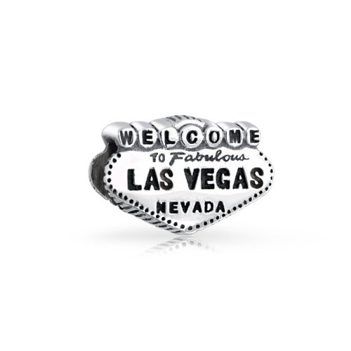 Bling Jewelry 925 Silver Welcome to Las Vegas