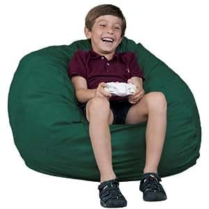 kids bean bag chair fugu brand green small 2 39 furniture decor. Black Bedroom Furniture Sets. Home Design Ideas