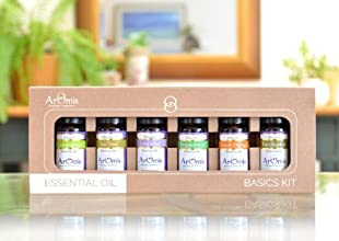 Essential Oils Kit - 100 Pure Certified Organic - Premium Theraputic Grade - 6 Types
