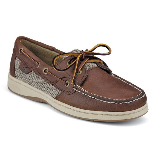 Sperry Top-Sider Women's Bluefish 2-Eye Boat Shoe - 7.5M Tan