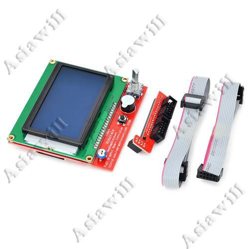 Asiawill® Smart Controller Ramps1.4 Lcd12864 Intelligent Controller