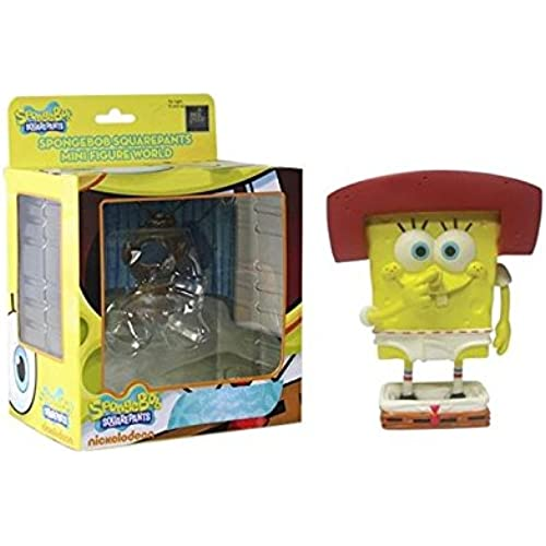 Spongebob Squarepants Mini Figure World Wave 04 - Karate Spongebob Spongebob Squarepants Figures [병행수입품]-