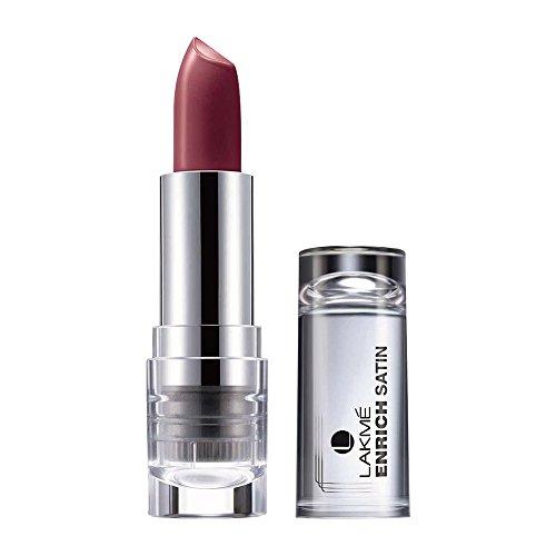 Lakme Enrich Satins Lip Color, Shade P140, 4.3 g