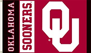 Buy NCAA Oklahoma Sooners 3-by-5-foot Flag by Flagpole To Go