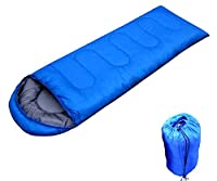 Waterproof Envelope-Form Sleeping Bag for Camping by Viskey